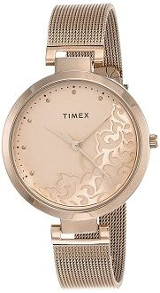 Timex White Dial Watch