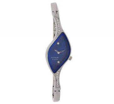 Titan Analog Blue Dial Watch