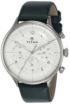 Titan Light Leather Watch