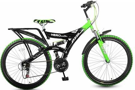 Hero Ranger 18 Speed DTB VX 26T Cycle