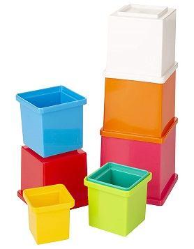 Funskool Multicolored Cubes