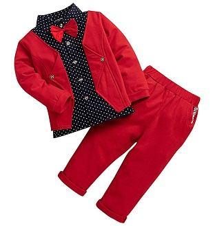 Hopscotch Boys Shirt & Pant Set