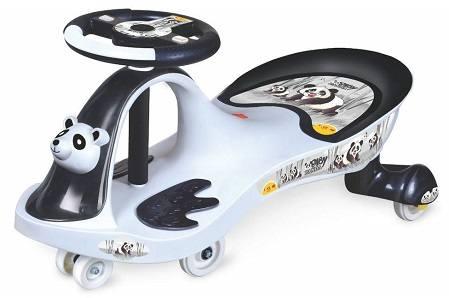 Toyzone Baby Panda Swing Car